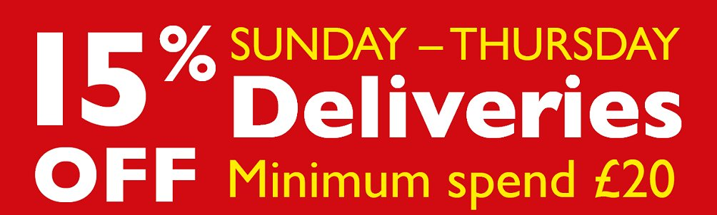 FREE DELIVERY - The Khyber Indian Restaurant, Swindon, the first and finest in Wiltshire