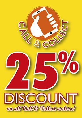 25% OFF CALL & COLLECT ORDERS - The Khyber Indian Restaurant, Swindon, the first and finest in Wiltshire
